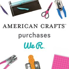 Exciting News About We R #americancrafts #wermemorykeepers