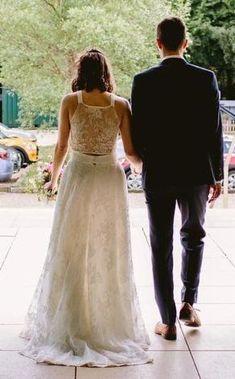 Bride of Ollichon - Chloe Bridal Skirts, Wedding Skirt, White Wedding Dresses, Wedding Gowns, Bridal Tops, Bridal Jumpsuit, Alternative Wedding Dresses, Bridal Separates, Dressy Dresses