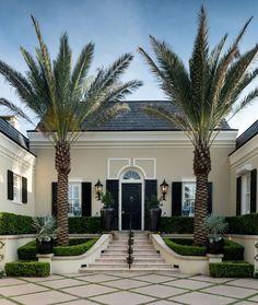 Regency-Style Elegant Villa - Palm Beach, Florida