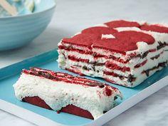 Red Velvet Ice Box Cake #UltimateComfortFood
