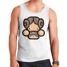 Simpler Princess Leia Organa Star Wars Mens Vest ** Visit the image link more details.