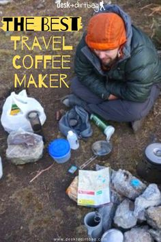Don't settle for bad coffee just because you are traveling! Here is the best travel coffee maker, portable grinder, and hot water source for every traveler. Tent Camping, Camping Ideas, Travel Coffee Maker, Packing Light, Go Outside, Van Life, Coffeemaker, Don't Settle, Outdoor Gear