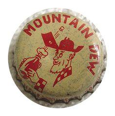 Mt Dew  Bottle-cap 1963