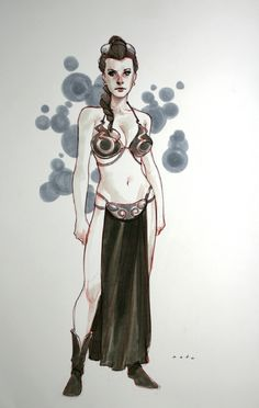 Star Wars - Slave Leia by Phil Noto