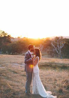 Rustic Australian farm wedding | photo by James Frost