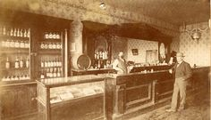 The Blue Front Saloon was located at the corner of Grand Avenue and . Old West Saloon, Western Saloon, Western Theme, 3 10 To Yuma, Pioneer Day, Old Bar, Ghost Towns, Vintage Photographs, Old Pictures