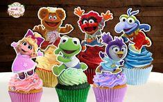Baby Cake Pops, Baby Cupcake Toppers, Baby Cake Topper, Cupcake Picks, Muppet Babies, Boy Birthday Parties, Baby Birthday, Birthday Cupcakes, Birthday Ideas