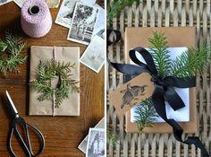 новогодняя упаковка подарков, упаковка своими руками, как упаковать подарки, новогодние подарки упаковка