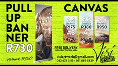 Our new specials! Free delivery in Bloemfontein area.