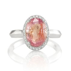 Hi Livia, I just want to tell you how BEAUTIFUL, BEAUTIFUL AND BEAUTIFUL my padparadscha ring is. OMG I have never seen such a beautiful padparadscha like this one before. It is the perfect blend of pink and orange and the stone is so brilliant. I can't stop looking at … Read more →