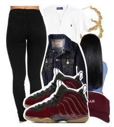 """7.21.16"" by lookatimani ❤ liked on Polyvore featuring Ralph Lauren, The High Rise, True Religion, NIKE and Nephora"