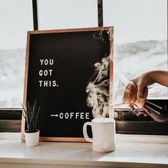 The Writer Oak , of terwijl: een letterbord. Wat zijn ze leuk! Natuurlijk kan het wel een beetje ... #coffeetime