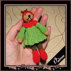 amigurumi pattern on etsy. http://www.etsy.com/listing/85888902/pattern-amigurumi-christmas-elf-bear