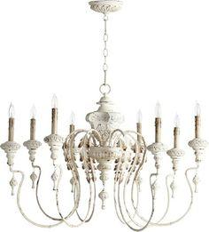 Quorum | Salento 8-Light Chandelier Persian White 6006-8-70