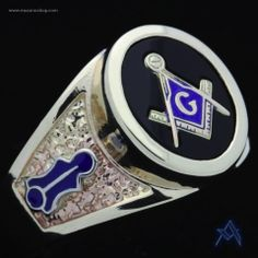 Gold Plated Master Mason Ring