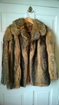 Very Paris Fashion Week Coyote Fur Coat/Jacket 6 Pre-Owned   eBay