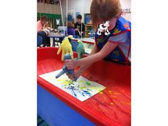 Learn + Play = Pre K: Cow Painting!
