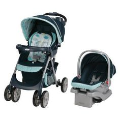 Graco Comfy Cruiser Click Connect 30 Travel System - Stratus - 1927619