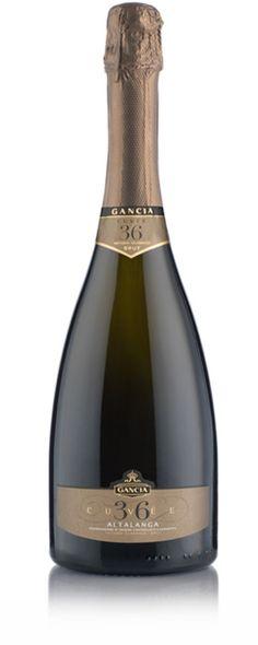Millesimato 36 mesi - Alta Langa D.O.C.G. - Gancia Wine Labels, Bottle Labels, Label Design, Packaging Design, Grand Cru, Sparkling Wine, Prosecco, Beverages, Alcohol