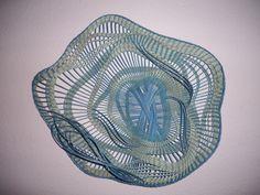 Basketry basket by Sally Anana