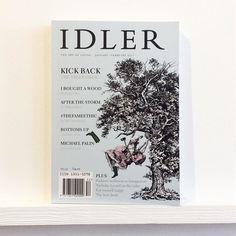 An Idler on #trees. @idleracademy #theidler #woods #storm #williamboyd #billdrummond #viz #michaelpalin #workwear as #loungewear #radio #bedshed