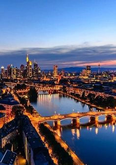 Frankfurt Skyline, Germany | by  iamthecameraeye