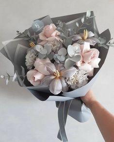 Boquette Flowers, Beautiful Bouquet Of Flowers, Luxury Flowers, Unique Flowers, Flower Boxes, My Flower, Planting Flowers, Beautiful Flowers, Floral Bouquets