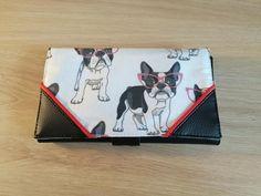 Compagnon Complice rouge noir et blanc à chiens cousu par Yaya - Patron Sacôtin