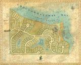 Churchill Oaks landplan, 46% greenspace, bay, bayou, marina, parks, preservation, waterfront promenade, Santa Rosa Beach, South Walton