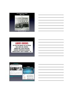 The House of Labor: Labor and Labor Unions from (Content Presentation) Labor Union, Gilded Age, American History, Commercial, Presentation, Content, House, Us History, Haus