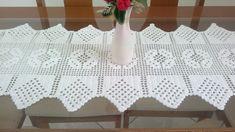 Imagini pentru caminho de mesa com grafico croche