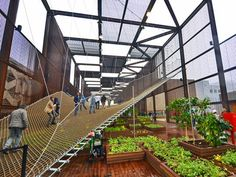 Pavilhões para debater a alimentação e energia para a vida ~ ARQUITETANDO IDEIAS