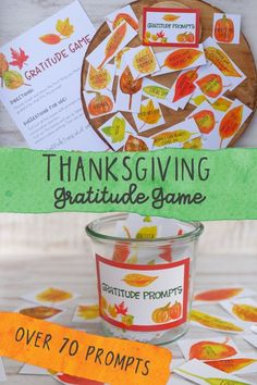 Thanksgiving Family Games, Thanksgiving Crafts For Kids, Thanksgiving Traditions, Thanksgiving Greetings, Thanksgiving Decorations, Activities For Teens, Primary Activities, Spring Activities, Preschool Ideas