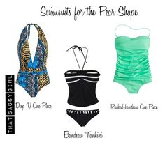 Swimsuits - Pear Shape by seepz-sc on Polyvore featuring Mode and J.Crew