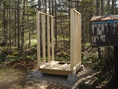 Plans For Wood Storage Shed Refferal: 3061538872 - Pallet shed - Building A Storage Shed, Shed Building Plans, Storage Shed Plans, Rv Storage, Firewood Storage, Outdoor Storage, 10x10 Shed Plans, Free Shed Plans, Outdoor Toilet