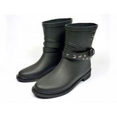 Supertrash SW14M022 Shorty boots - zwart #emmenmode