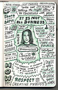 Megan Gilger - It's Not All Business - from Circles Conference, via the Creative Market Blog #circles2013