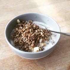 #Yumy #healthy #filling #breakfast #Homemade #Granola with #yogurt and  #Best #Granola #recipe https://youtu.be/SWV_b0SHmAs