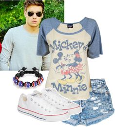 """""""Disneyland with Liam (part 1)"""" by dominique1316 ❤ liked on Polyvore"""