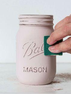 Creative Mason Jar DIY Ideas #masonjars #masonjar