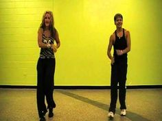 """Heather Rounds """"Hickory Chick"""" Dance Choreography: """"Ya Llego"""" w / tutorial"""