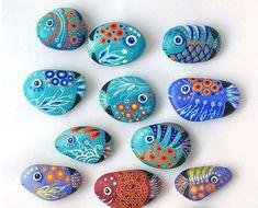 6+1 ιδέες για ζωγραφική σε πέτρες