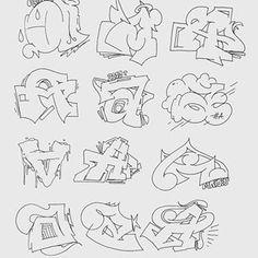 """Yesterdays Style Studies Favorite """"A"""" ? Graffiti Art, Wie Zeichnet Man Graffiti, Graffiti Words, Graffiti Tagging, Graffiti Drawing, Graffiti Lettering Alphabet, Arte Dope, Wildstyle, Sketch Notes"""