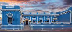 La casa azul...aún no sé xq se llama asi. Mérida