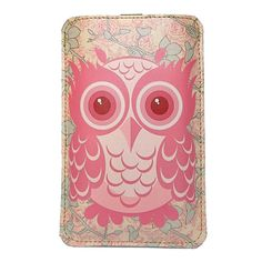 {Owl in Bloom - Leather iPhone/Smartphone case}