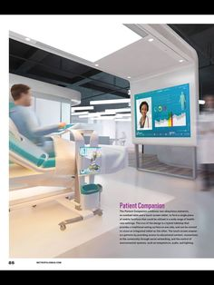 Patient Room 2020 By NEXT Health Competition With Integrated Technology Healing Machine