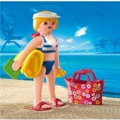 Playmobil naar het strand