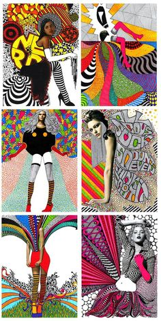 8 posts published by OliveLoaf Design during November 2008 Mixed Media Collage, Collage Art, Atelier Photo, Pop Art Fashion, Photocollage, Middle School Art, Arts Ed, Art Plastique, Magazine Art