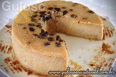 Pudim de Pão e Banana » Doces e sobremesas, Liquidificador, Receitas Saudáveis » Guloso e Saudável