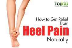 Heel pain is a very common foot problem that can interfere with your normal activities. Pain may be felt on the bottom of the heel, just behind the heel or in the arch of the foot. Often, this type of pain comes on gradually and is usually worse in the mo Foot Pain Relief, Headache Relief, Heel Spur Relief, Sore Heels, What Is Plantar Fasciitis, Rheumatoid Arthritis Treatment, Arthritis Remedies, Health Remedies, Top 10 Home Remedies